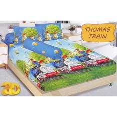 Harga Kintakun Dluxe Train Sprei Set 180X200X20Cm Branded