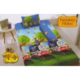 Harga Kintakun D Luxe Thomas Train Sprei Set Single 120X200X20