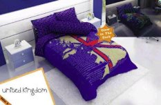 Harga Kintakun Sprei Glow In The Dark United Kingdom 120X200 Fullset Murah