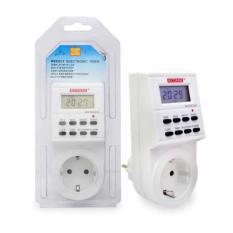 Kitani Digital Stop Kontak On/Off Otomatis Program Electronic Timer 24 Jam