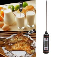 Dapur Memasak Makanan Daging BBQ Probe Termometer Elektronik Daging Gas Termometer Oven Memasak Alat-Internasional