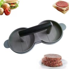 Jual Kitchen Dining Aluminum Nonstick Meat Double Burger Press Cooking Tools Intl Oem Ori