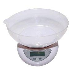Miliki Segera Kitchen Scale Timbangan Dapur Digital Lcd Electronic Kitchen Food With Bowl