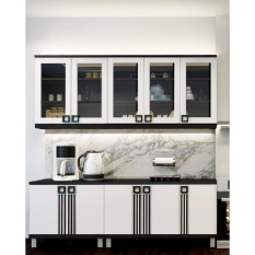 Kitchen Set Infinity (panjang Dapur : 197 Cm) By Furniture Minimalis.