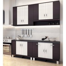 Kitchen Set ((untuk Dapur Ukuran : ± 158 Cm) By Furniture Minimalis.