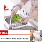 Kitchen Sink Splash Water Guard Cute Panda Pattern Plate Sayuran Dish Washing Baffle Intl Murah