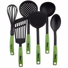 Jual Kitchen Tools Spatula Set Oxone Ox 953 Hijau Branded