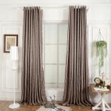 Perbandingan Harga Dapur Hiasan Jendela 3D Murah Modern Ruang Tamu Pendek Curtain Ready Made Brown Napearl Di Tiongkok