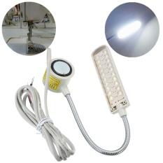 Ki Hangat Modern 1 PC Mesin Jahit Industri 20 LED 220 V Pemasangan Magnetik Light Lampu Pin Plug Aksesoris Jahit Alat -Intl