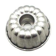 Kiwi - Cetakan kue bolu puding Diameter 24 cm - Perak