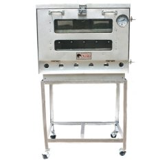 Kiwi - Oven Gas 1 Pintu Ukuran 60 cm (Perak) – Khusus Jakarta, Depok, Dan Tangerang