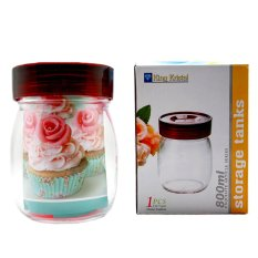 Kiwi – Toples Kaca King Kristal 800 ml – Bening