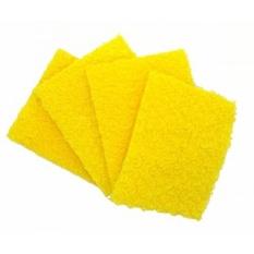 KLEIESH Bebas Bau Dishcloths. Yang Sempurna Scrubber, Dish Cloth, Sponge dan Scouring Pad untuk Membersihkan Piring, Panci & Wajan, dan Peralatan Dapur 5