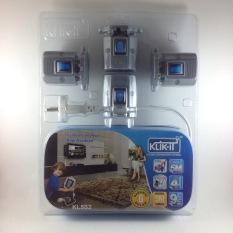 Promo Klik It Kabel 5M Stop Kontak Switch Kl5S2 Klik It Terbaru