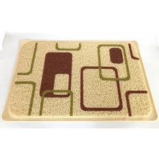 Klik Mds Keset Karet Welcome Anti Slip Shabby 40x59 cm – Motip Abstrak Kotak