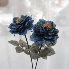 Tahu Akar Simulasi Bunga Hi Rose Sutra Bunga Mawar Dekorasi Rumah Bunga Eropa Floral Bunga Buatan Meja Ruang Tamu Bunga-Internasional