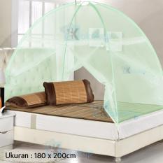 Jual Maxxio Kelambu Tenda Kasur Portable Anti Nyamuk Hijau Online