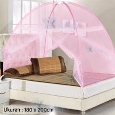Berapa Harga Maxxio Kelambu Tenda Kasur Portable Anti Nyamuk Pink Maxxio Di Dki Jakarta