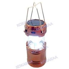 Maxxio Lampu Emergency Camping Solar Panel Lampu Camping 3 Way  - Bronze Colour
