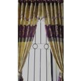 Harga Kong Gorden Murah Batik Ungu 12 Lubang 1 Meter 1 Lembar Tanpa Tali Kong Curtains Online