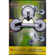 Promo Kop Kaca Kaki 3 Nankai Suction Cup 3 Leg Sekelas Sellery Angkat Kaca No Brand