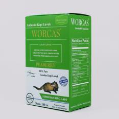 Spesifikasi Kopi Luwak Peaberry Sumatran King Gayo 100Gr Bubuk Dengan Certificate Dan Box Yang Bagus
