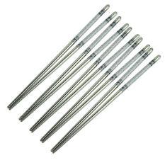 Korean Chopstick Stainless Steel Set Sumpit 5 Pasang