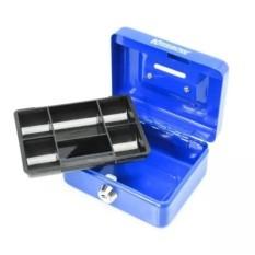 kotak cash box mini 5 inch krisbow cashbox brankas penyimpanan uang