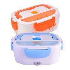 Harga Kotak Makan Praktis Dengan Pemanas Elektrik Lunch Box Satu Set