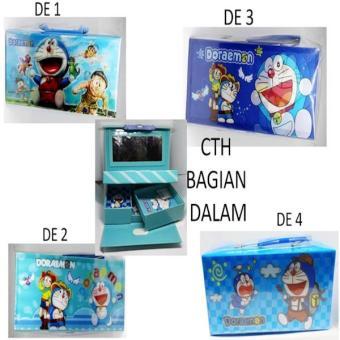 Kotak Pensil Kode Doraemon 3D
