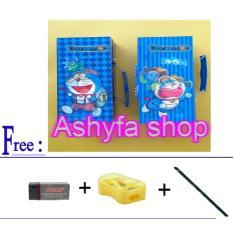 Kotak Pensil Kode Doraemon Free 1X Pcs Penghapus 1X Pcs Rautan 1X Pcs Pensil Joyko Universal Murah Di Dki Jakarta