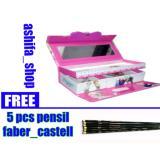 Spesifikasi Kotak Pensil Tempat Pensil Kode Karakter Cewek Gambar Random Free 3 Pcs Pensil Faber Castell Terbaru