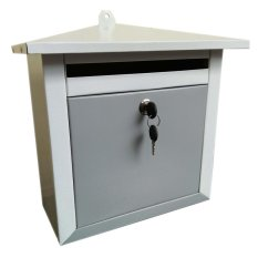 Kotak Surat Mail Box Persegi Asli