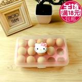 Toko Kotak Telur Isi 15 Grid Egg Box Egg Case Tempat Penyimpanan Telur Rak Telur Kitty Kucing Lengkap