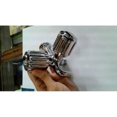 KRAN / KERAN AIR TOTO DOUBLE / DOBLE 1/2 INCH MODEL BULAT