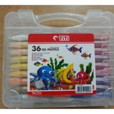 Jual Krayon Titi Crayon Titi Oil Pastel 36 Warna Non Toxic Asli Universal Ori