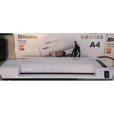 Krisbow Paper Laminator / Mesin Laminating Kertas A4 HQ-236