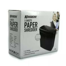 Krisbow Paper Shredder S302 Mesin Penghancur Kertas By Sumber Rejeki_shop.