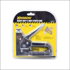 KRISBOW STAPLER TEMBAK 3 IN 1