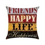 Situs Review Kuhong Retro Linen Cushion Cover Rumah Kantor Sofa Sarung Bantal Persegi Bantal Dekoratif Meliputi Pillowcases H05 Intl