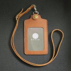 Spesifikasi Kulid Id Card Holder Kulit Asli Coklat Murah
