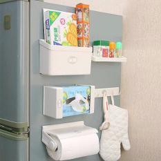 Beli Kulkas Organizer Rak Refrigarator Rack Multifungsi Praktis Magnet Secara Angsuran