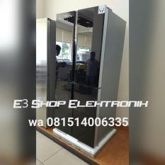 Kulkas Side By Side 4 Pintu Gea Rq 56Wc Promo Super Murah !!! - Dcooal