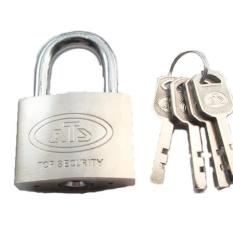 Kunci Gembok Besi ATS 50 mm Leher Pendek / Rafly Home