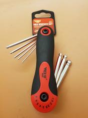 Jual Kunci L Lipat 8Pcs Merk Wely Tools Kunci Folded Hex Key Warna Merah
