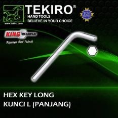 Kunci L Panjang 3 mm Tekiro ( Eceran )