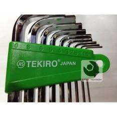 Review Kunci L Set Tekiro Kunci L Set Panjang Uk 2 10 Mm Original Tekiro Di Dki Jakarta