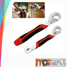 Kunci Pas Serbaguna Pengencang Dan Pembuka Sekrup Baut Mur / Kunci Inggris Snap N Grip 1 Set 2 Pcs