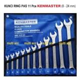 Spesifikasi Kunci Ring Pas 11 Pcs Kenmaster 8Mm 24Mm