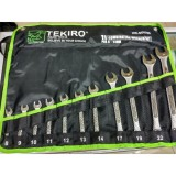 Kunci Ring Pas Tekiro 8 24Mm 11Pcs Murah